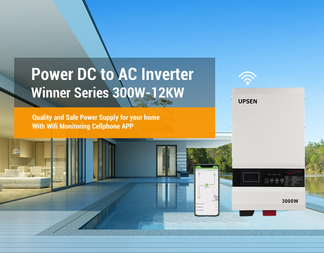 Power DC to AC Inverter